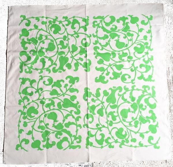 洋からくさシリーズの緑です。